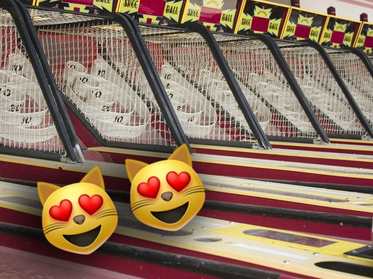 An arcade-quality Skee-Ball machine you can call your own