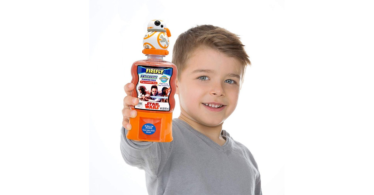 This Star Wars mouth rinse
