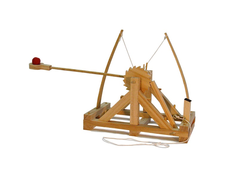The perfect gift for dads who have an opinion about trebuchets