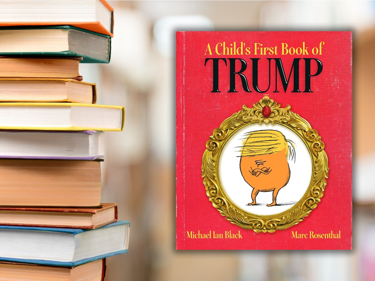 This Trumpian children's book for adults