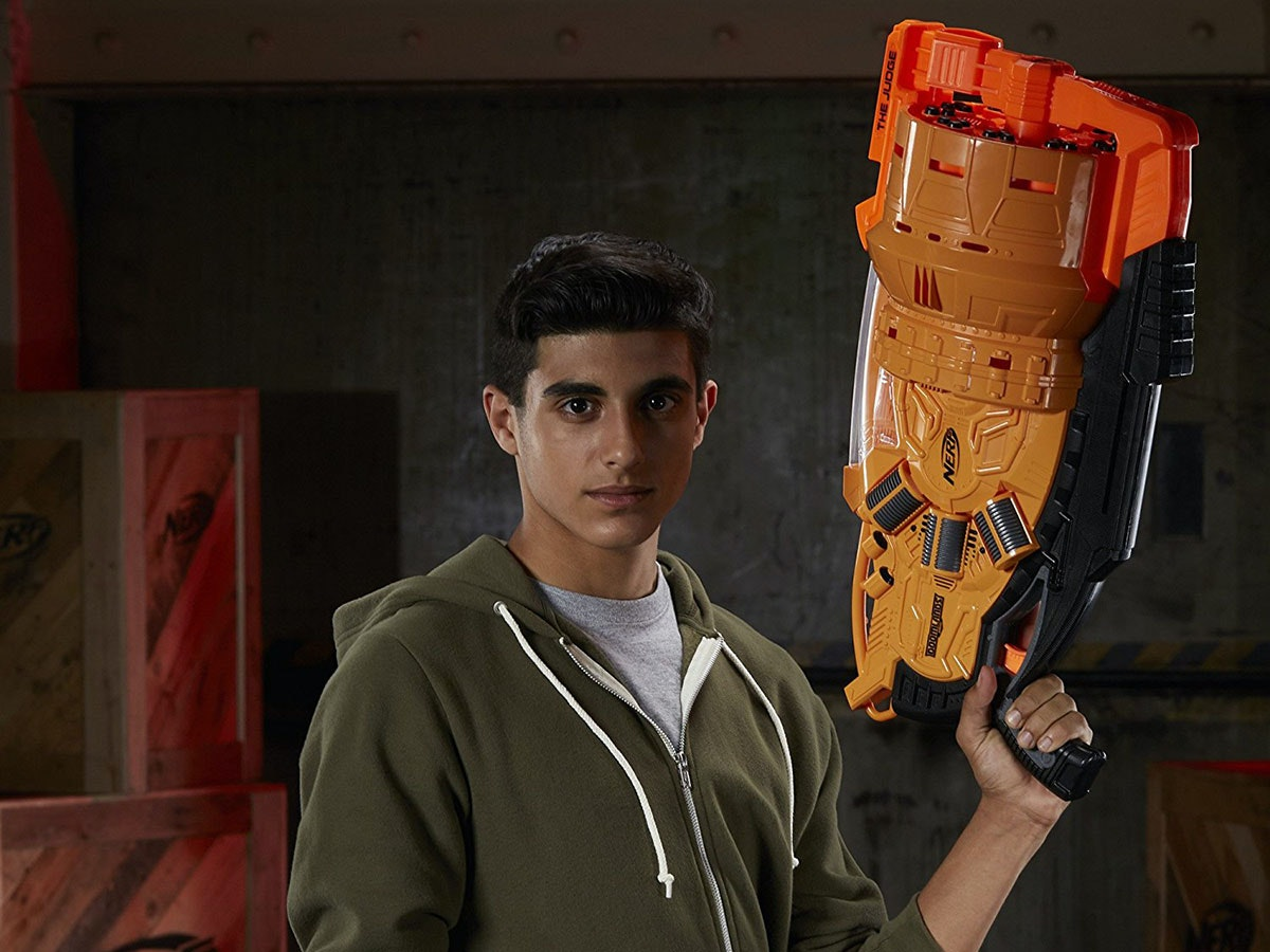 This Nerf gun to end all Nerf wars