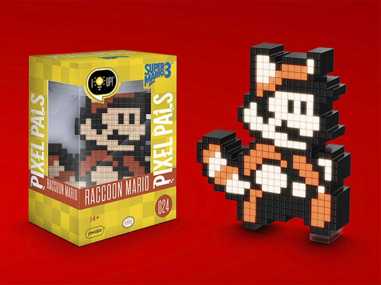This rad pixelated Mario light to show off your 8-bit heritage