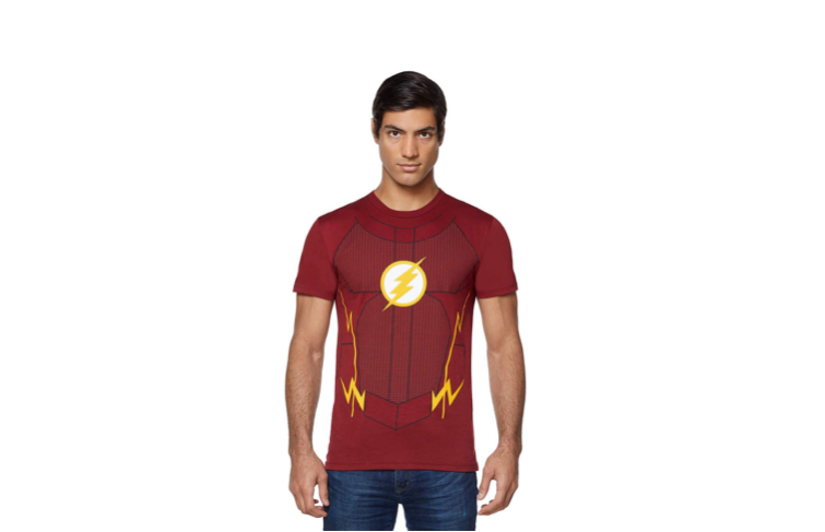 This shirt that turns you into a superhero in a Flash ⚡⚡⚡