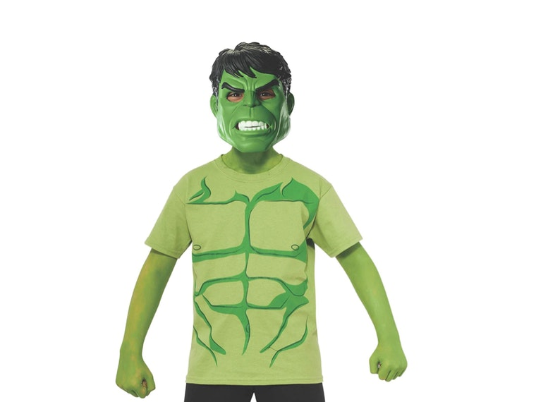 This green Hulk t-shirt that's all the RAGE