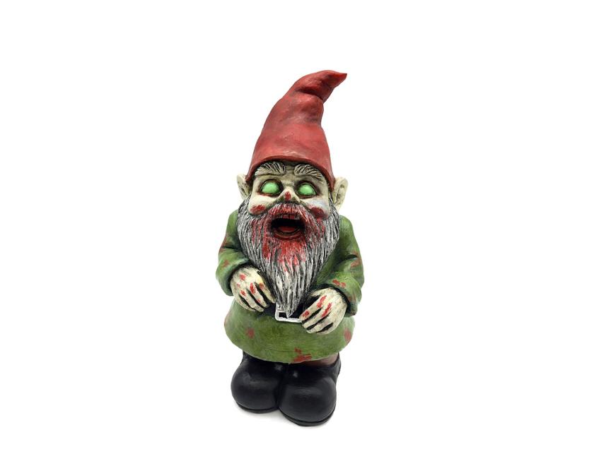 This undead garden gnome