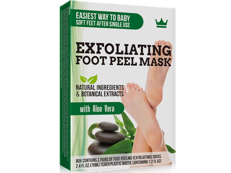 This gross-yet-satisfying mask for your feet 👣