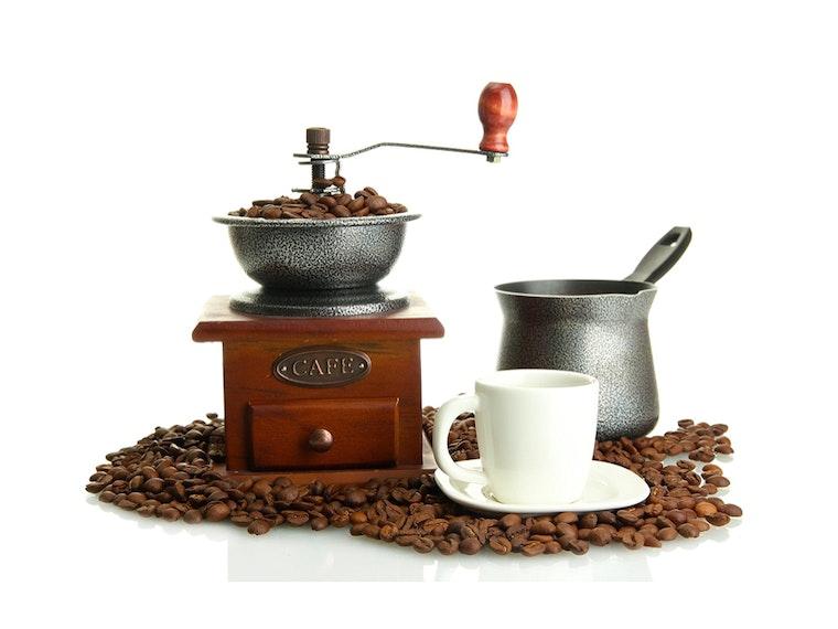 A throwback coffee grinder☕