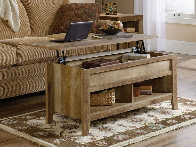 Turn your coffee table into the dining table you wish it was