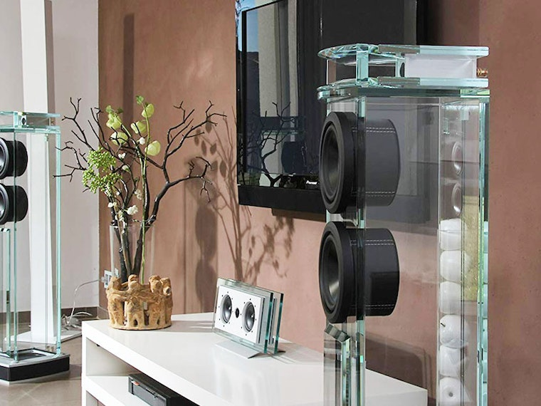 These ridic expensive $26,700 glass speakers🔊