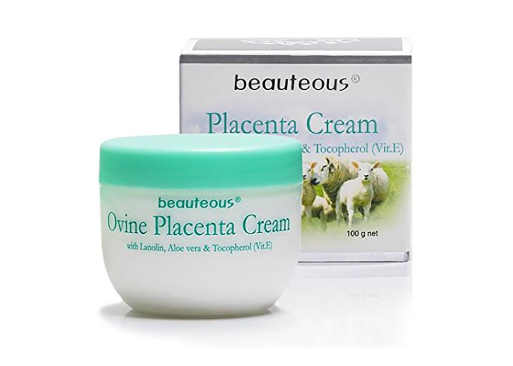 This face cream made with sheep placenta 🐑