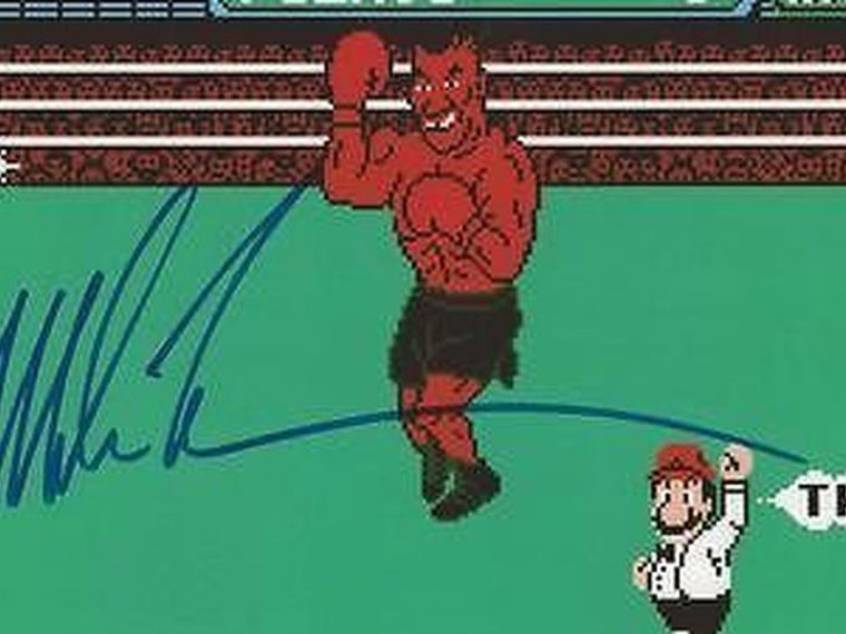 This now-sold-out Punch-Out!! print