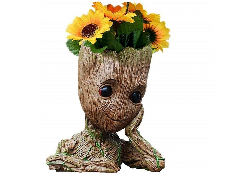A Groot flower pot for your sunshine