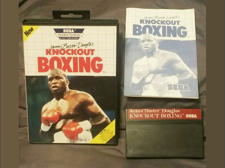 James 'Buster' Douglas Knockout Boxing, a game that's so 1990 it hurts 🥊