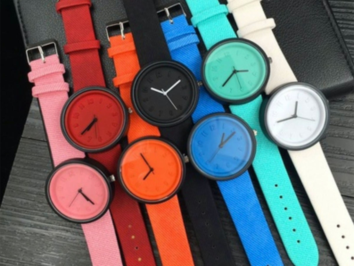 These colorful-yet-simple watches to add some flair to your wrist