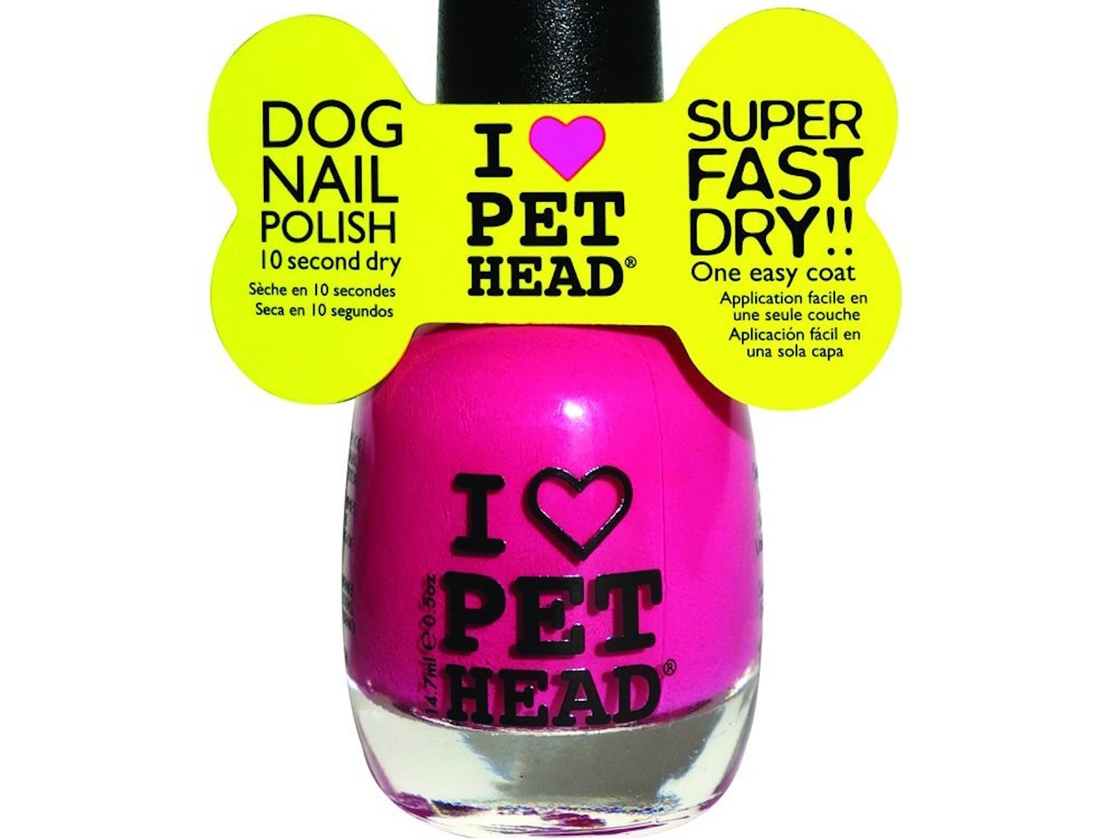 This fast-drying nail polish for puppies
