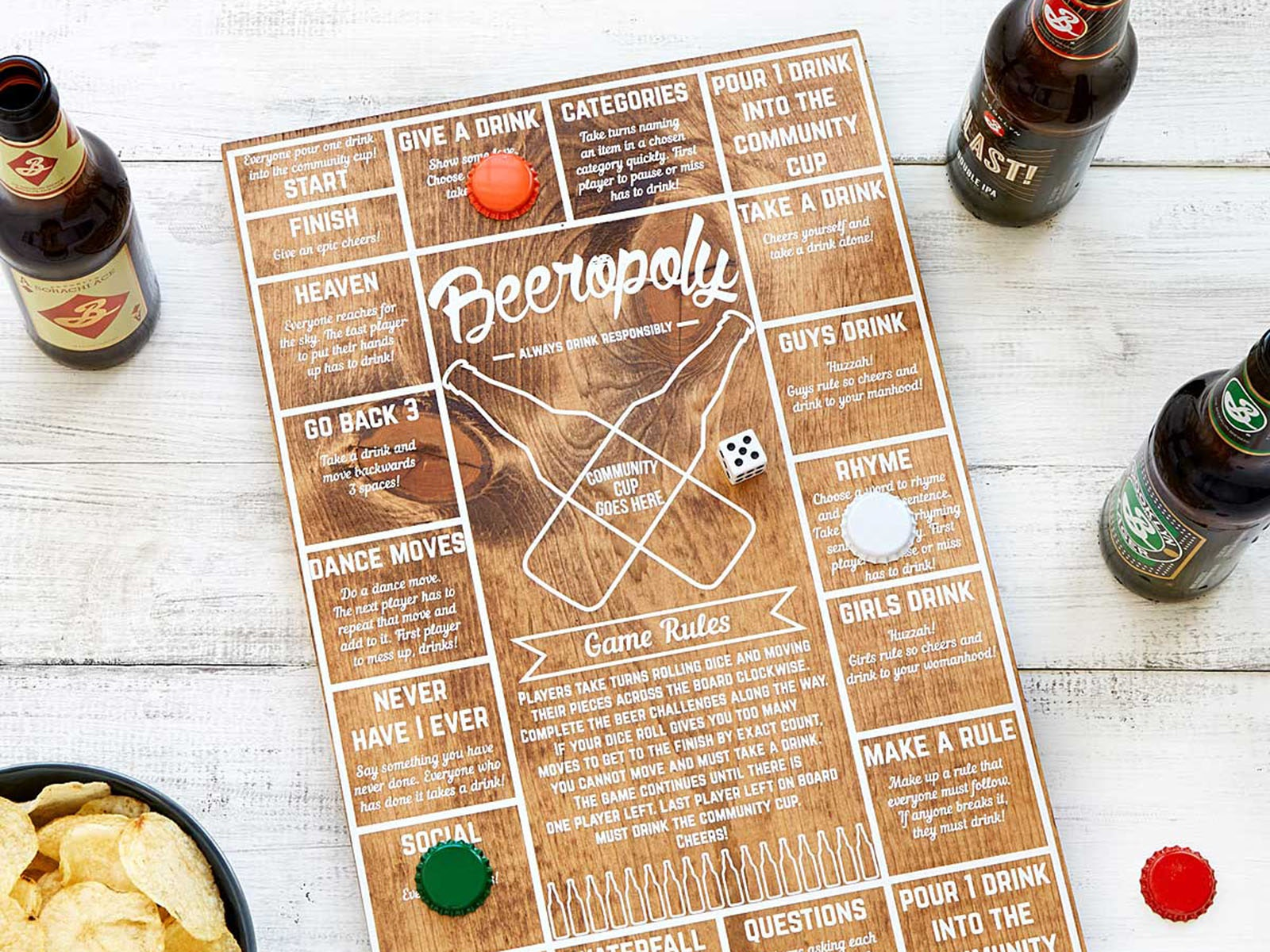 This ridiculously fun beer party game