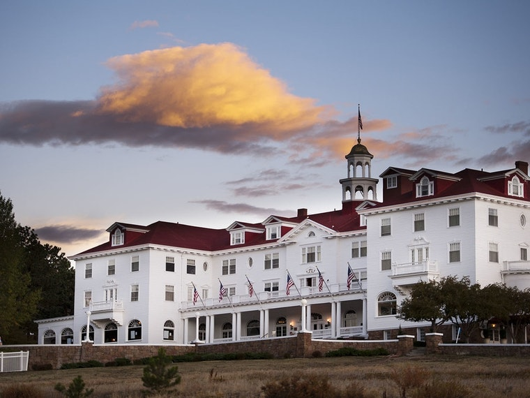 This hotel in Colorado that inspired the movie Shining hotel