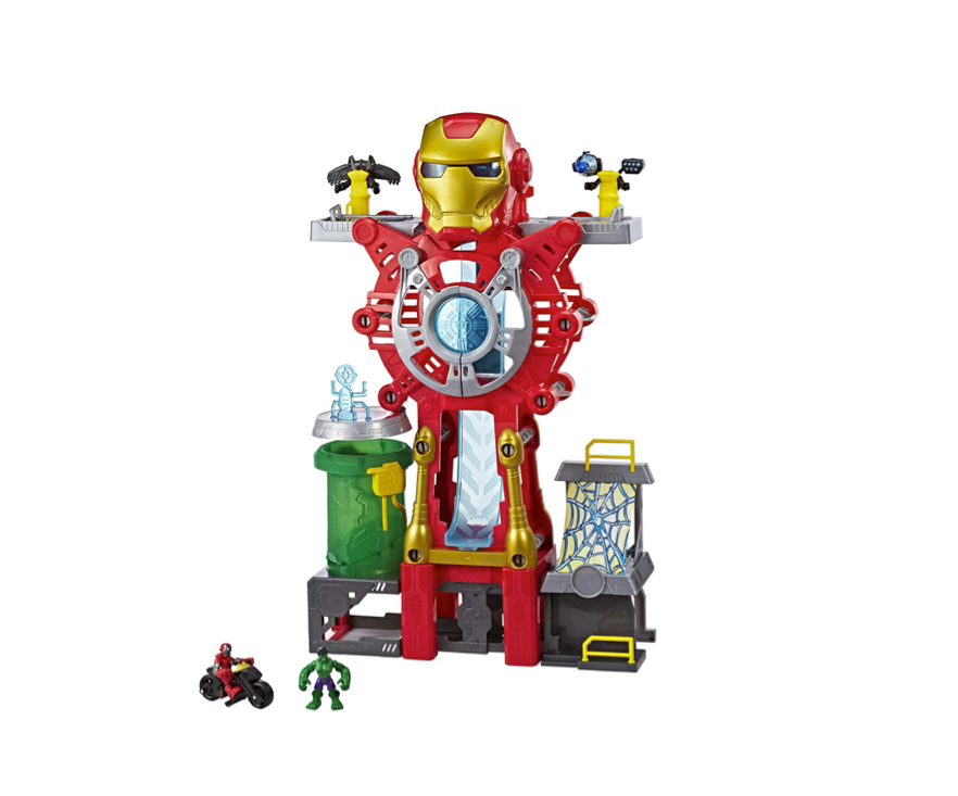 This epic playset for the littlest Marvel fans