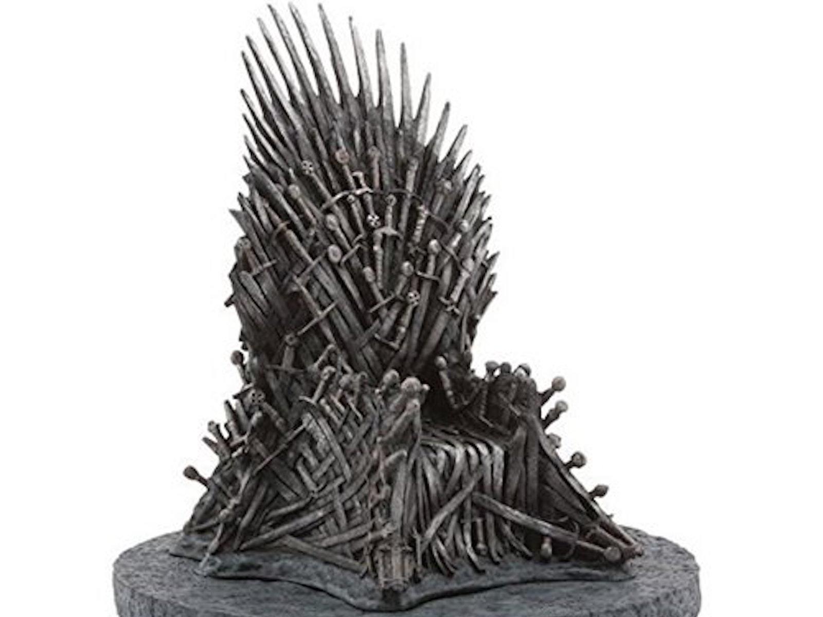 This mini Iron Throne