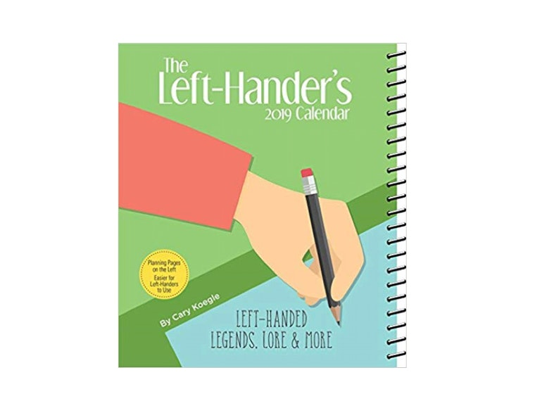 This left-handed weekly planner 📝