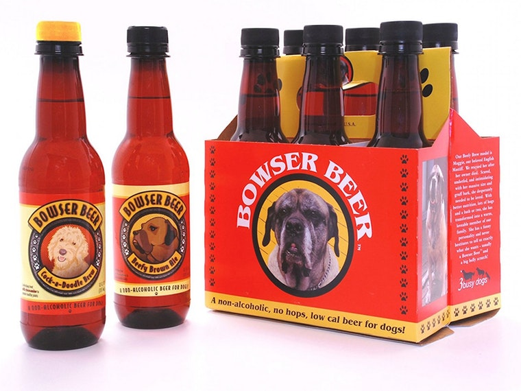 This beer for dogs