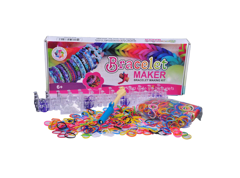 This bracelet kit for crafty girls