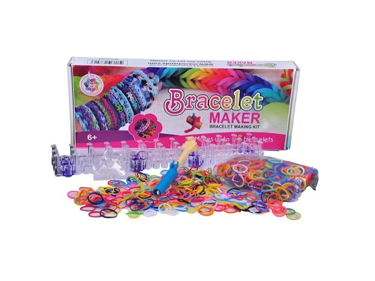 This bracelet kit for crafty girls