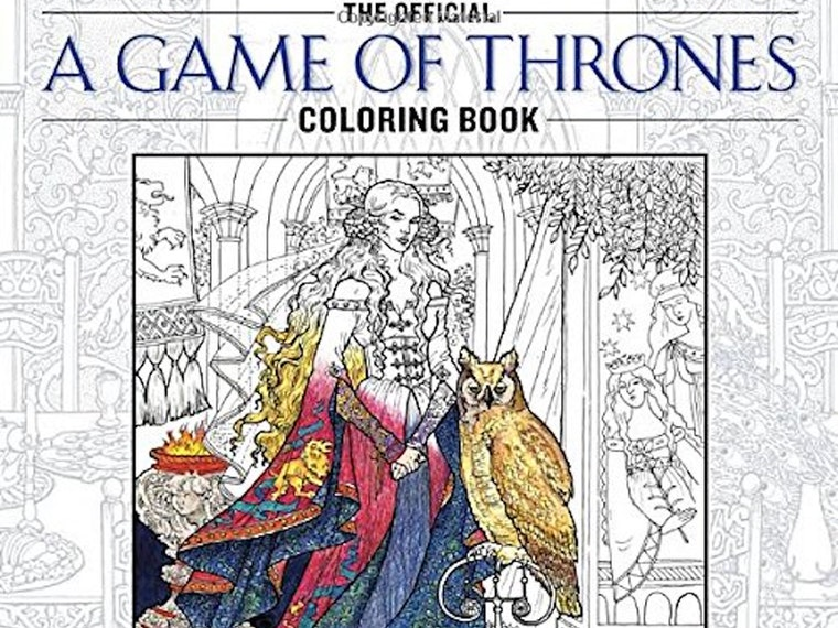 The most murderous and incestuous coloring book, ever 🖍️