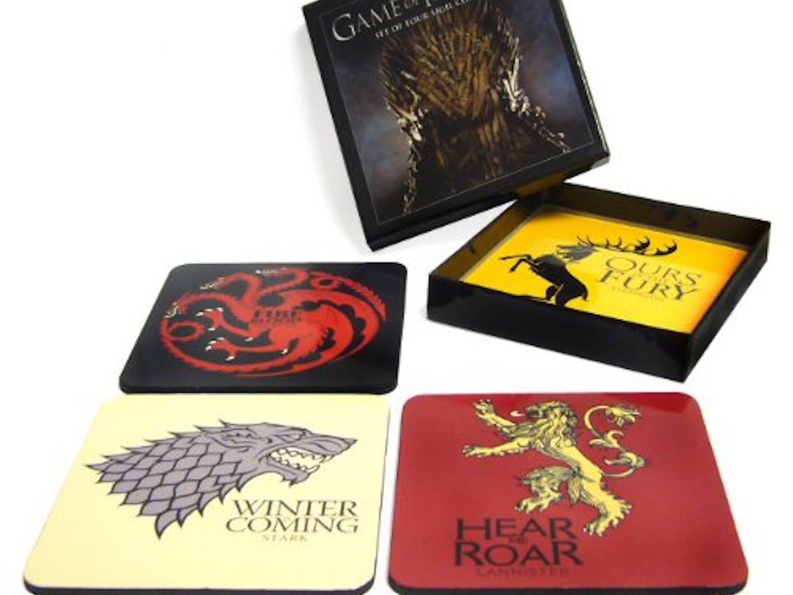 This coaster set for your next GoT watching party