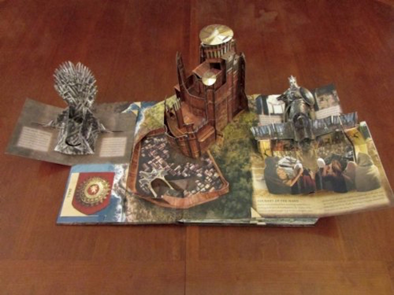This gorgeous pop-up guide to Westeros⚔️