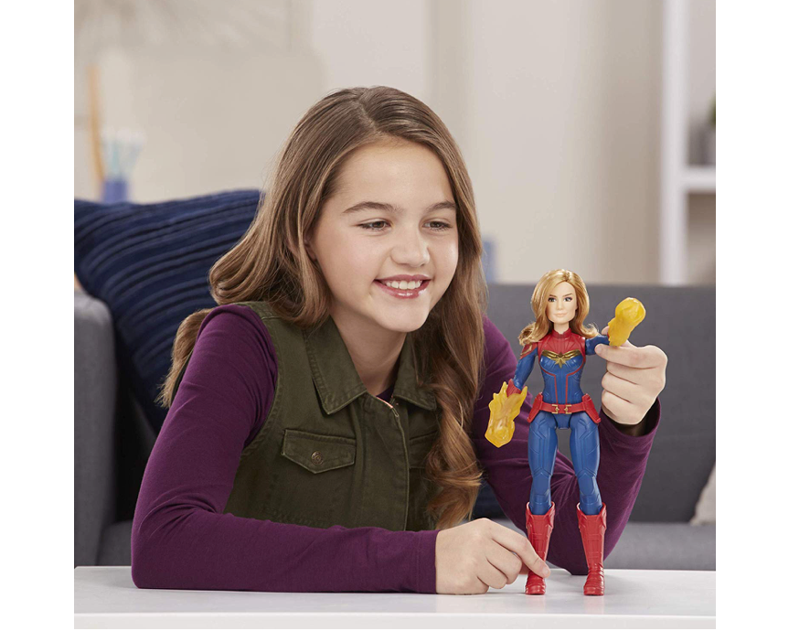 This Captain Marvel doll