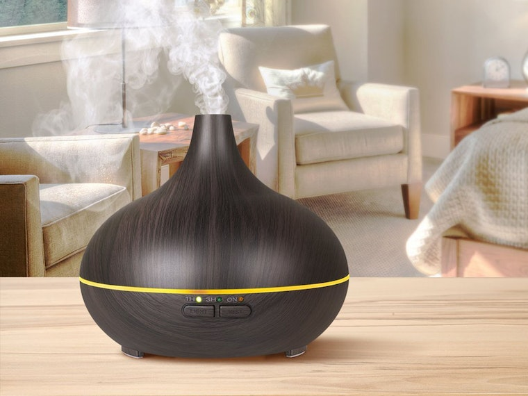 Use an essential oil diffuser to make your home smell amazing
