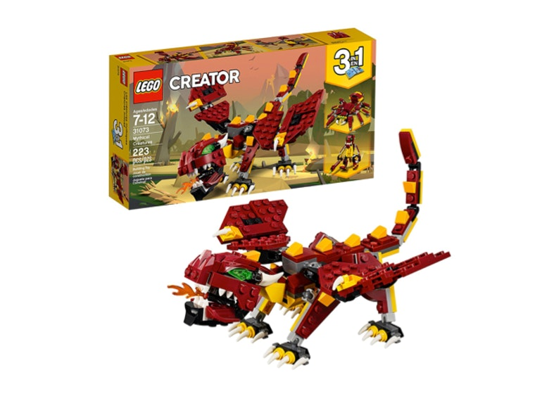 This Lego monster that they'll build themselves 🦎