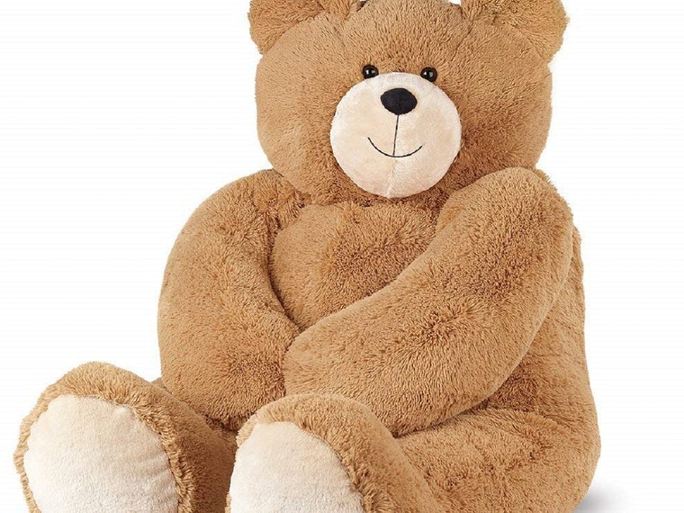 A giant teddy bear for your big, ol' softie