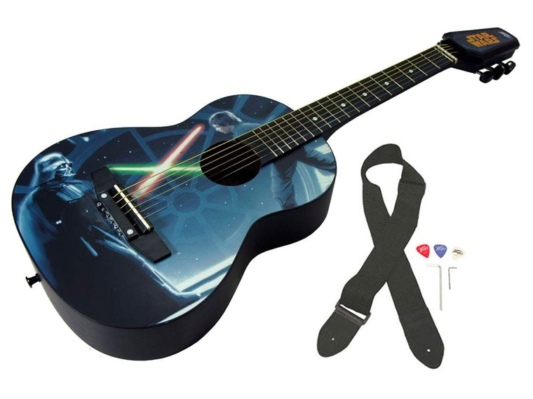 This intergalactic guitar