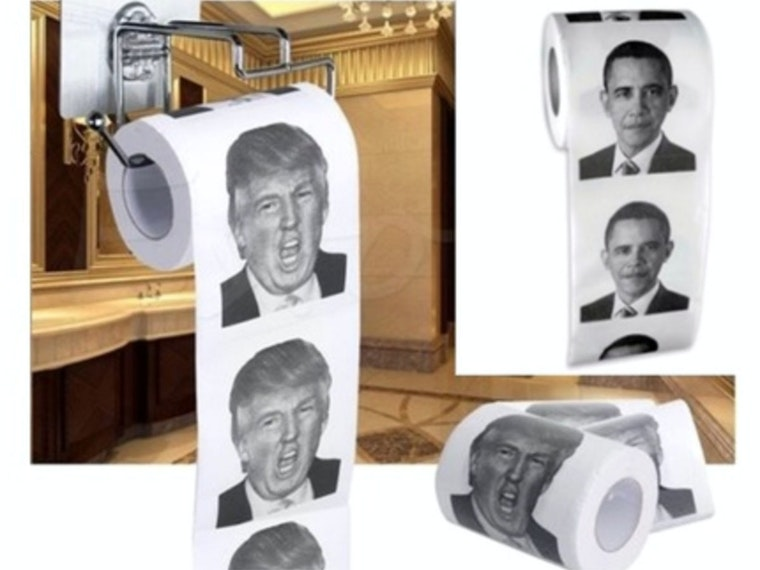 This presidential toilet paper for partisans of all kinds