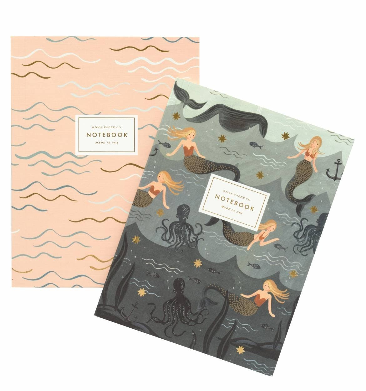 These artsy notebooks for mermaids-in-training
