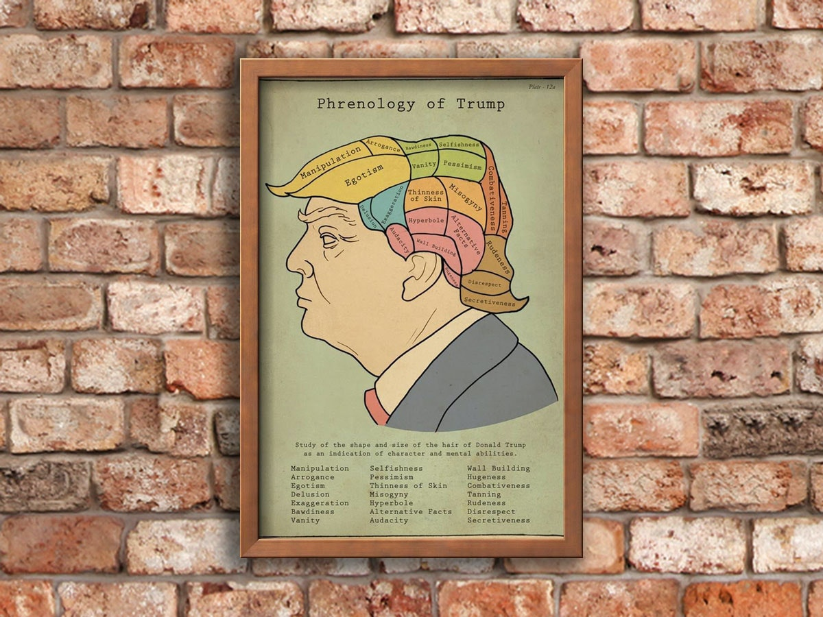 This art that explains just how the president's thought process works