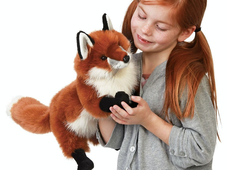 This puppet that gives you the final word on what the fox says