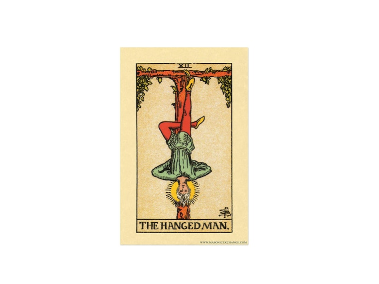 This tarot warning you can hang on your wall