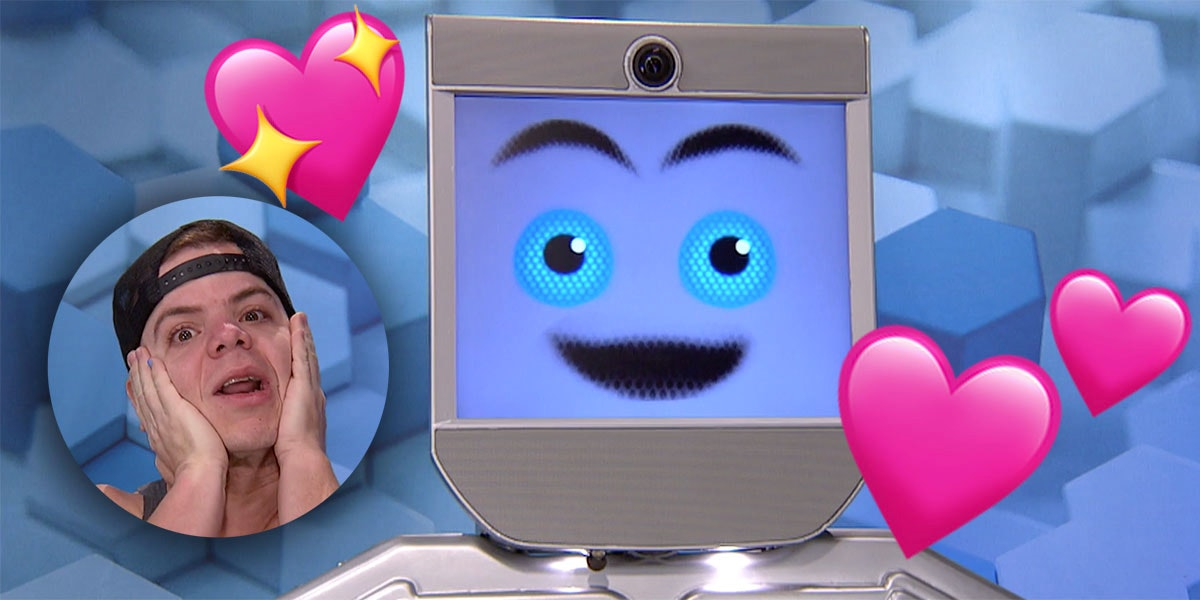 The First Big Brother Showmance of the Season Is Between a Gay Dude and a Robot