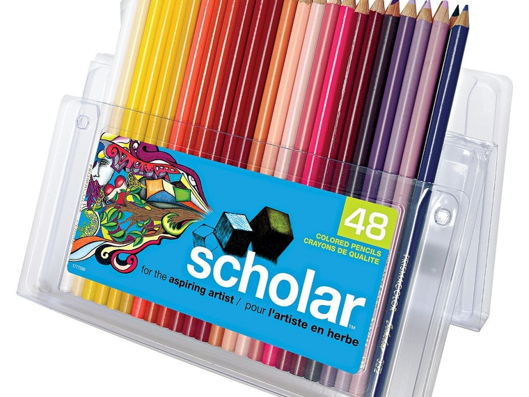This assortment of high-quality colored pencils