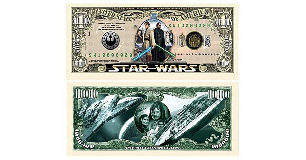 This million dollar bill