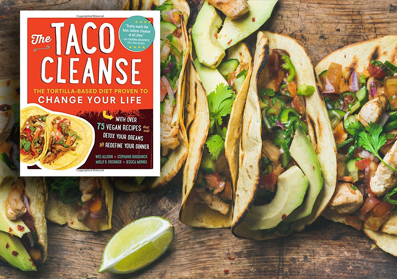 This book that teaches you the taco diet🌮