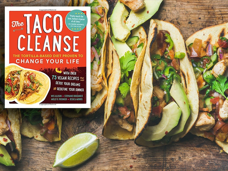 This book that teaches you the taco diet 🌮