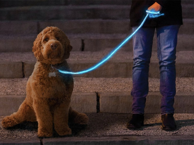 This bright idea for safer nighttime walks