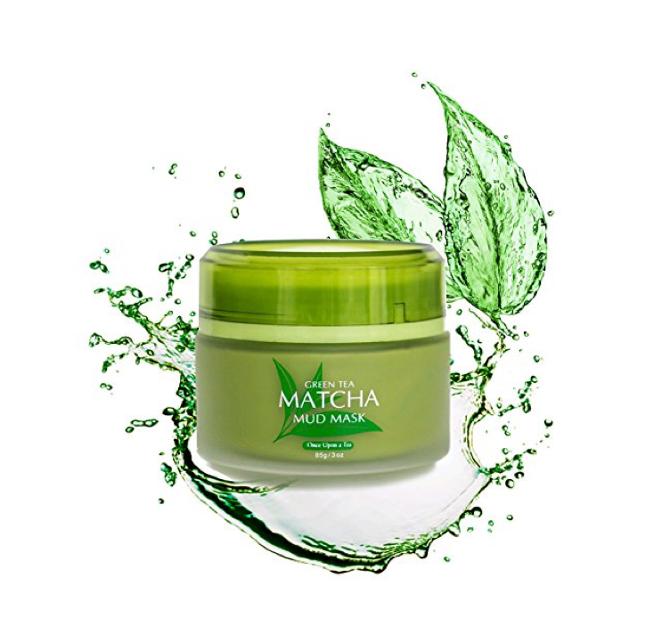 This nourishing green tea face mask