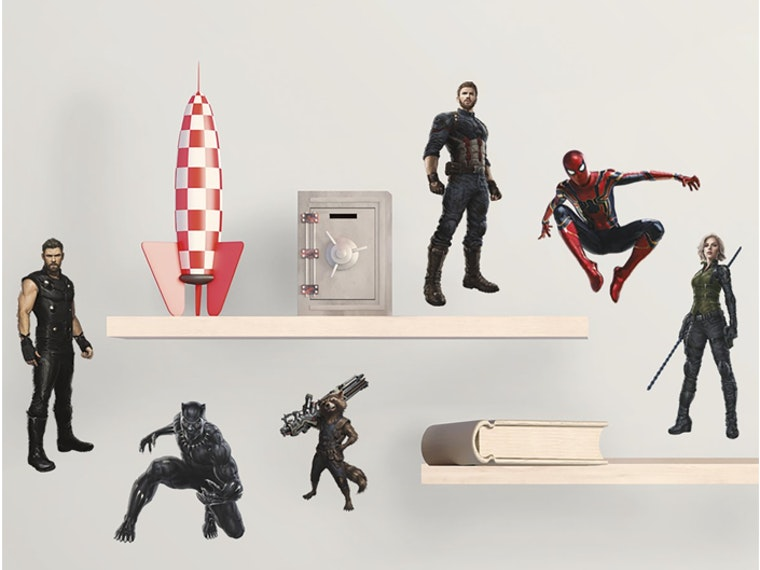These Avengers character wall decals