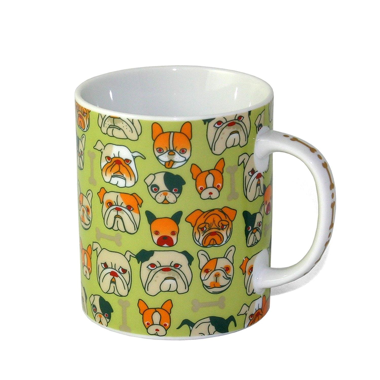 A mug for people who love every single type of bulldog