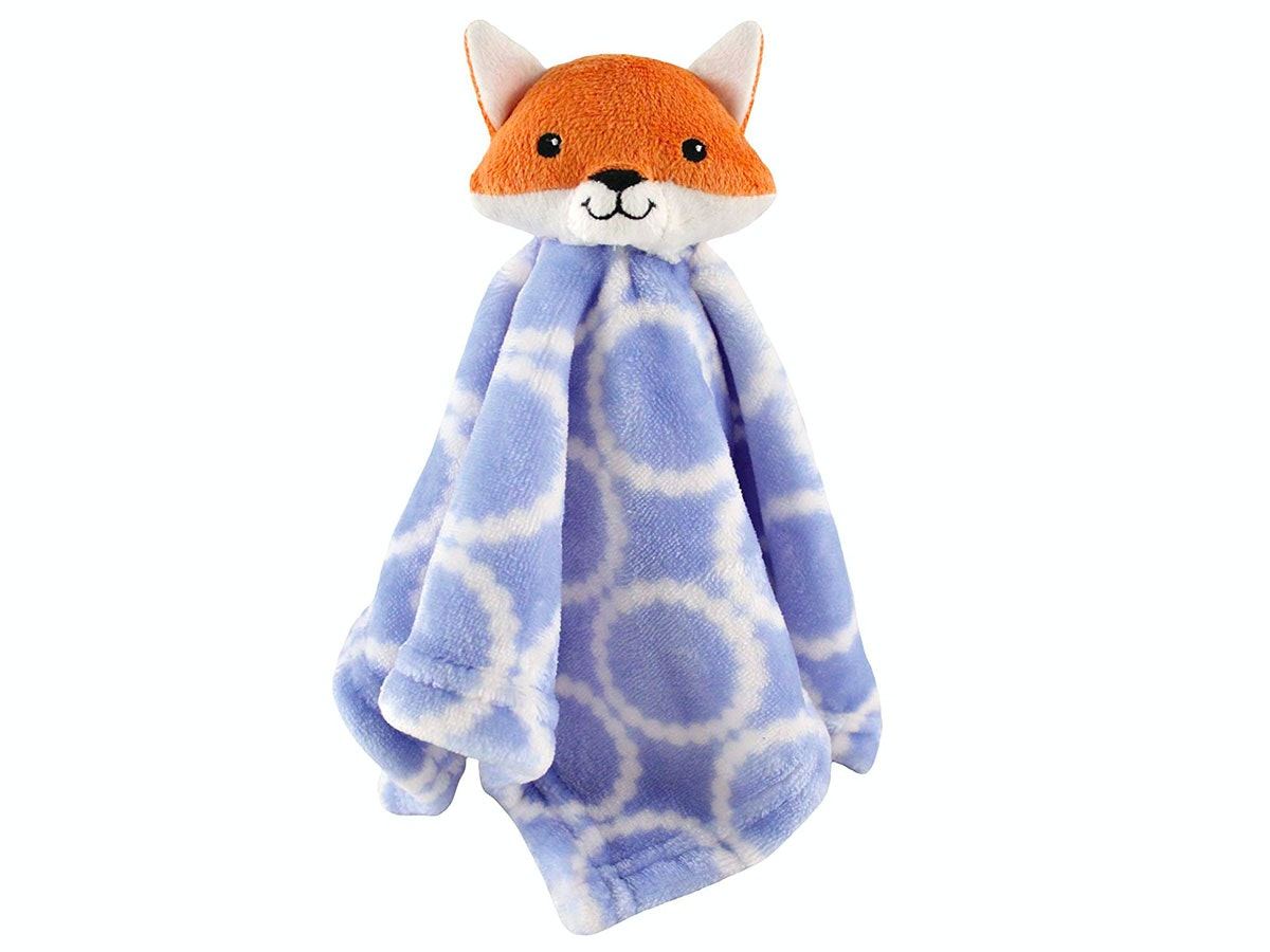 This cuddly fox security blanket for baby